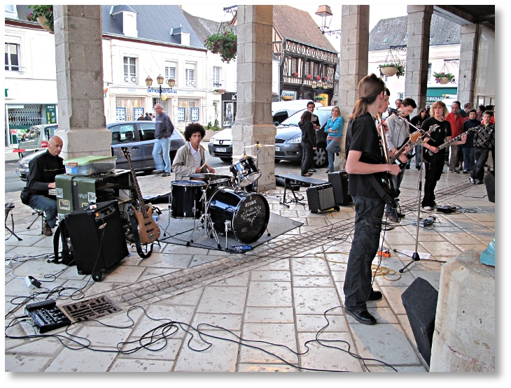 Groupe de musiciens